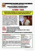 """""""AUDITORIA INTERNA ISO 19011:2011 DE SISTEMAS DE GESTION EN ORGANIZACIONES EMPRESARIALES"""""""
