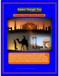 Golden Triangle Tour a Historic Journey of North India Presentation