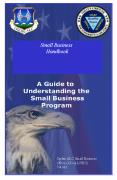 Small Business Handbook Ogden ALC Small Business Offic