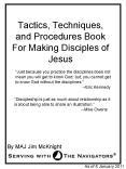Tactics, Techniques, and Procedures Book For Making Disciples of Jesus
