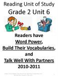 Unit 6-RUS Readers  deal with polysyllabic words by decoding chunks, starting at the left and moving right.