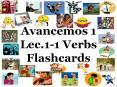 Avancemos 1 Lec.1-1 Verbs Flashcards