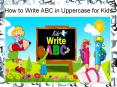 How to Write ABC in Capital Letters - Bforball