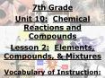 1. Chemical Formula-