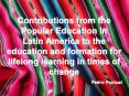 Contributions from the Popular Education in