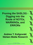 Pruning the SASLOG -