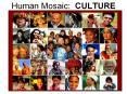 Human Mosaic: CULTURE