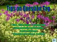Tips on Question Tag