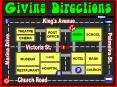 Giving Directions_city map