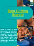 Best Cutting Steroid