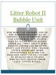 Litter Robot II Bubble Unit