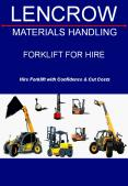 Forklift for Hire or Rent