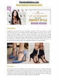 Theshoefashion - Theshoefashion.com 2016 Luxury Shoes Collections