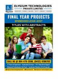 IEEE Embedded Systems Top most Projects 2016-17  for Engineering Students Free Titles with Abstracts