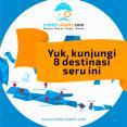 yuk kunjungi 8 destinasi wisata seru di indonesia