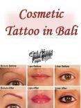 Cosmetic Tattoo in Bali