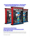 Tracks Social Profit App Review and $30000 Bonus - Tracks Social Profit App 80% DISCOUNT