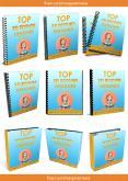 BINDER & NOTEBOOK_3D Ebook Cover Report Box CD DVD Template