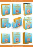 Box Cover_3D Ebook Cover Report Box CD DVD Template