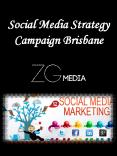 Social Media Strategy Campaign Brisbane