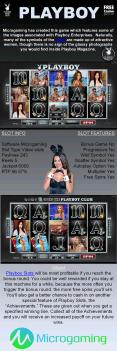Playboy video slot game by Microgaming
