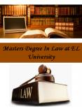 Masters Degree In Law at EL University