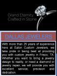 Custom jewelry dallas