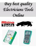 Buy best quality Electricians Tools Online