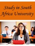 Study in South Africa University