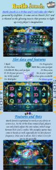 Play for free new slot machine - Beetle Jewels