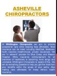 Chiropractic Care Asheville