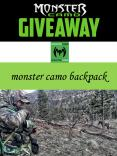 monster camo backpack