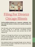 Print out divorce Papers Online Chicago Illinois