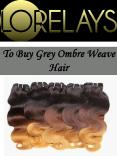 To Buy Grey Ombre Weave Hair