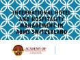 International Hotel and Hospitality Management In ABMS SWITZERLAND