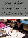 Join Fashion Design Program At EL University