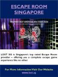 Real Escape Room Singapore
