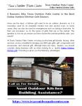 3 Reasons Why Texas Outdoor Patio Center is the Best Dallas Outdoor Kitchen Grill Dealers