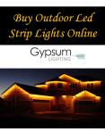 Buy Outdoor Led Strip Lights Online