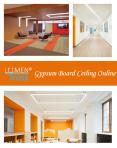 Gypsum Board Ceiling Online