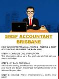 Self Managed Super Fund Accountant Gold Coast