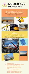 Leading Crane Manufacturers in India