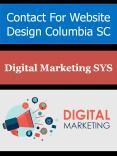 Contact For Website Design Columbia SC