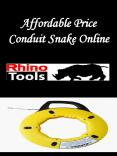 Affordable Price Conduit Snake Online