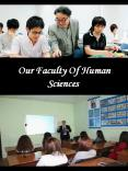 Our Faculty Of Human Sciences