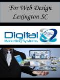 For Web Design Lexington SC