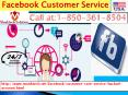 Facebook Customer Service 1-850-361-8504 Available In Odd Hours
