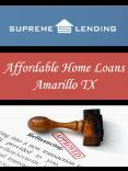 Affordable Home Loans Amarillo TX