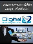 Contact For Best Website Design Columbia SC