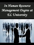 In Human Resource Management Degree at EL University